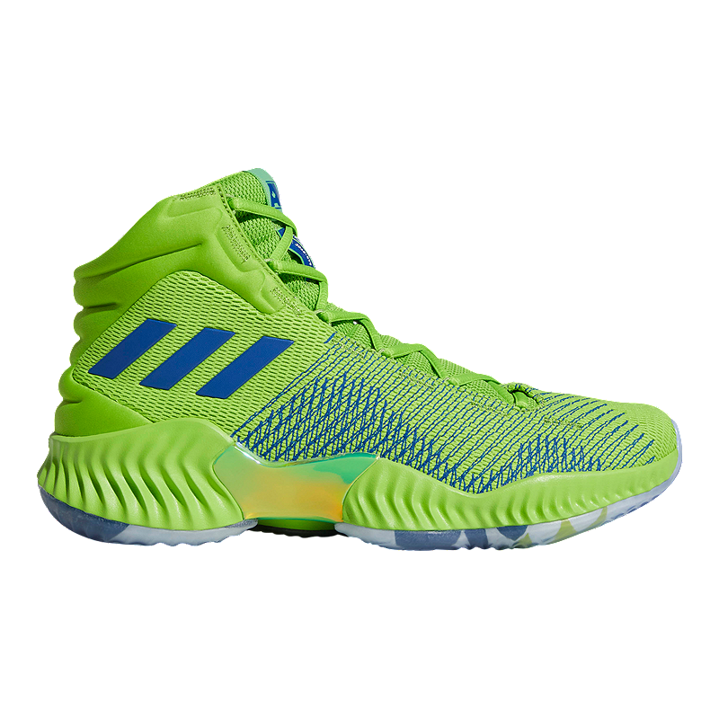 sports shoes 1dfe8 1223d adidas Men s Wiggins Pro Bounce 2018 Basketball Shoes - Green Blue   Sport  Chek
