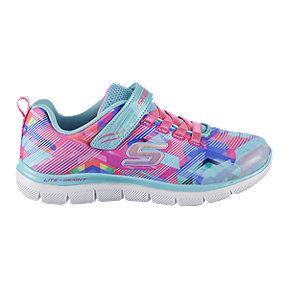 Skechers Girls' Appeal 2.0 Pre-School Shoes - Royal/Pink/White