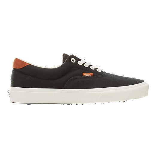 6a69397aee40a5 Vans Men s Era 59 Flannel Shoes - Black