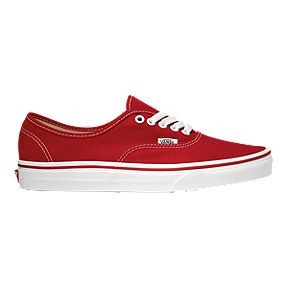 ac72e48c9b4 Vans Men s Authentic Shoes - Red White