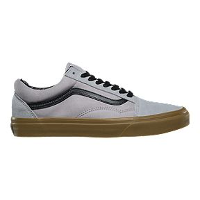 Vans Men s Old Skool Shoes - Gum Alloy Black 0bc180f81