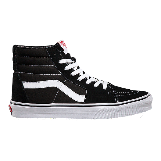 Vans Men's Sk8 Hi Shoes Black