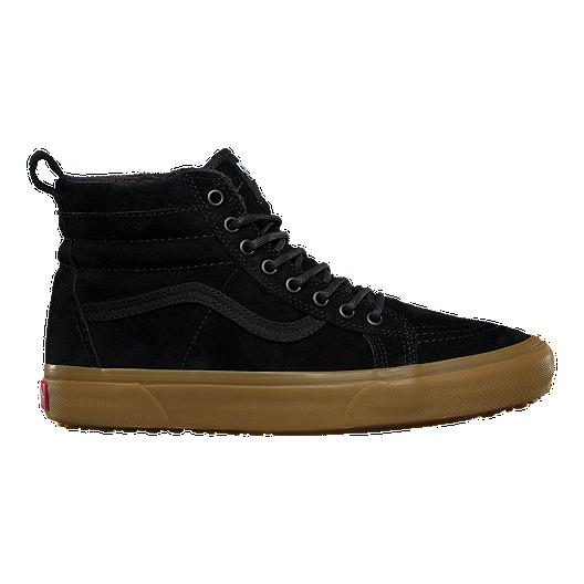 19c69b9ee970ef Vans Men s Sk8-Hi MTE Shoes - Black Gum