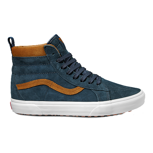 2e4d9deb72 Vans Men s Sk8-Hi MTE Shoes - Suede Dress Blues