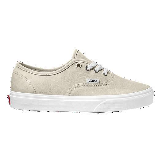 1bb38df550 Vans Women s Authentic Suede Shoes - Moonbeam True White