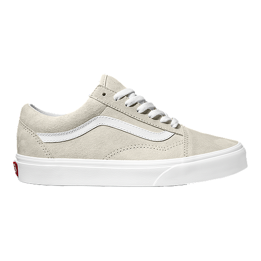 297d1020f481 Vans Women s Old Skool Suede Shoes - Moonbeam True White