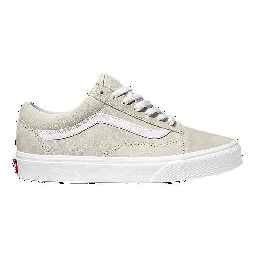 5c310f325a Vans Women s Old Skool Suede Shoes - Moonbeam True White