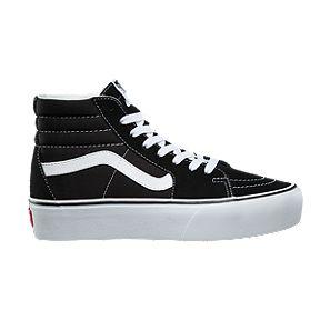 5949d109c47 Vans Women s Sk8-Hi Platform 2.0 Shoes - Black True White
