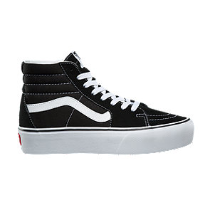 b65342801 Vans Women's Sk8-Hi Platform 2.0 Shoes - Black/True White