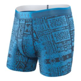 Saxx Men's Quest 2 Boxer Brief With Fly-Pattern
