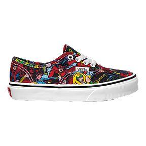 f607b7eaa1 Vans Kids  Authentic Marvel Avengers Preschool Shoes - Multi