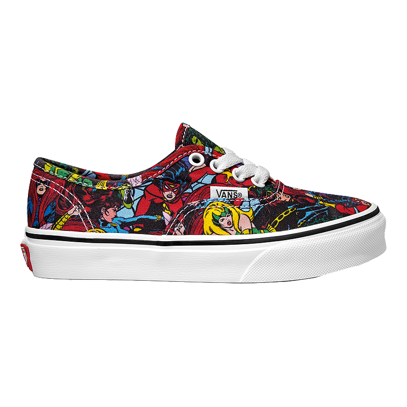 Vans Kids  Authentic Marvel Avengers Preschool Shoes - Multi  32b2cb347