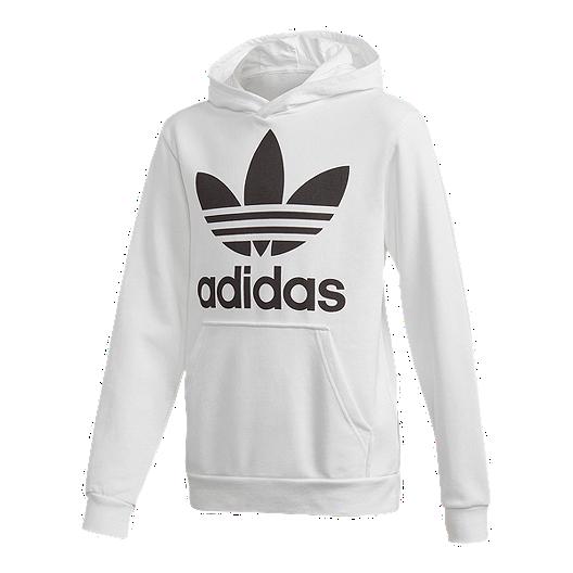 38b828b51e15 adidas Originals Boys  Trefoil Hoodie