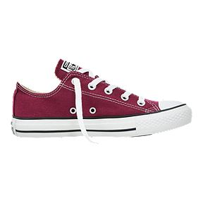 23e896a7a90d Converse Men s Chuck Taylor OX Shoes - Maroon