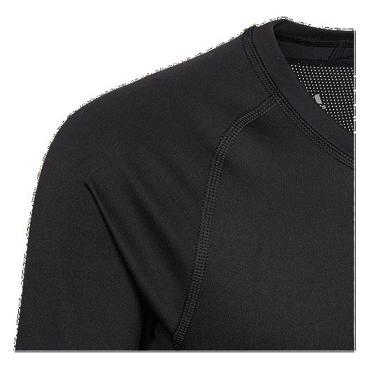214defbd adidas Boys' AlphaSkin Long Sleeve Shirt | Sport Chek