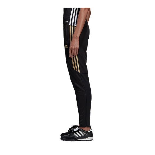 f5a32c72 adidas Women's Tiro 17 Training Pants - Black/Gold