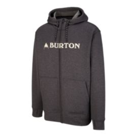 Burton Men's Oak Full Zip Hoodie - Black