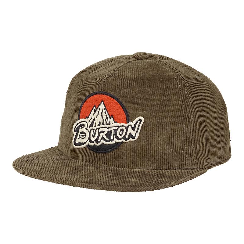 Burton Men s Retro MTN Corduroy Hat - Olive  4a9167f91c9d
