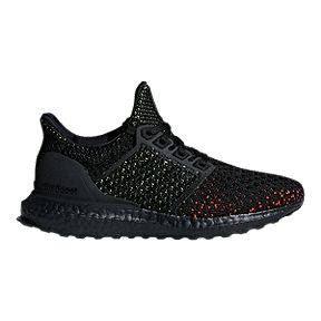 adidas Kids  Ultra Boost Clima Grade School Running Shoes - Black Red c1ff5c6a4619