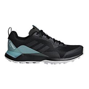 adidas Women s Terrex CMTK GTX Hiking Shoes - Black Blue 96116ebae123