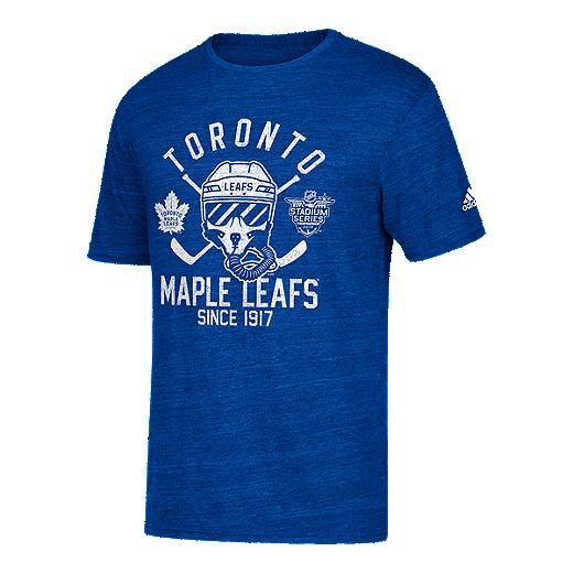 buy online 6269c 730d2 Toronto Maple Leafs adidas Stadium Series Hockey Pilot T Shirt