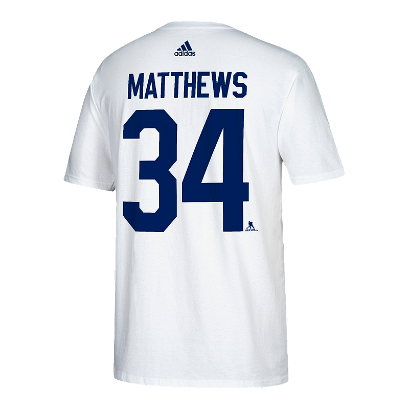 new product 72f9b f0975 Toronto Maple Leafs adidas Auston Matthews Stadium Series Player T Shirt