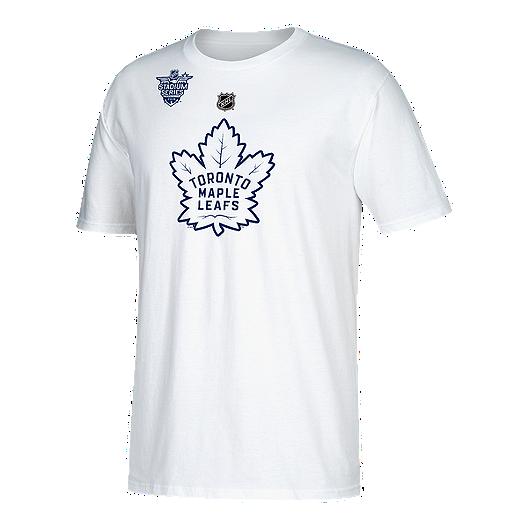 new product 49846 94346 Toronto Maple Leafs adidas Auston Matthews Stadium Series Player T Shirt