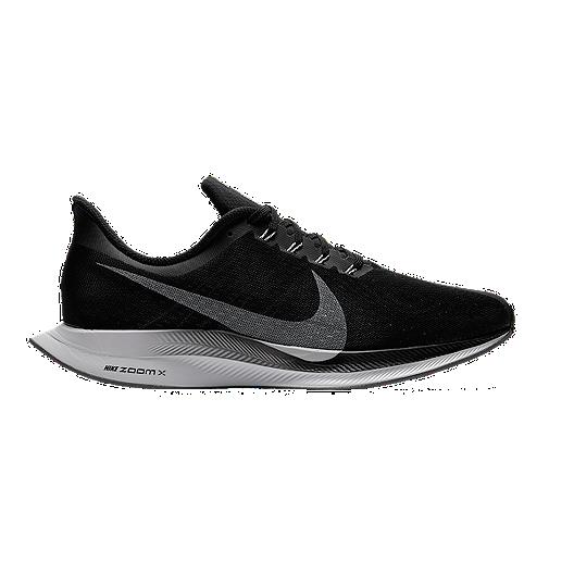 671bb914d46f Nike Men s Zoom Pegasus 35 Turbo Running Shoes - Black Grey