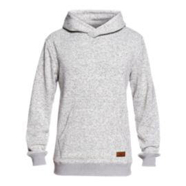 Quiksilver Men's Keller Pullover Hoodie - Light Grey