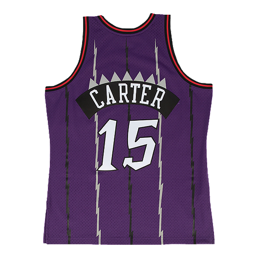 quality design d749a 88373 Toronto Raptors Mitchell and Ness Carter Swingman Replica ...