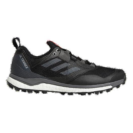 ba751d38cfc7f adidas Men s Terrex Agravic XT Trail Running Shoes - Black Grey ...