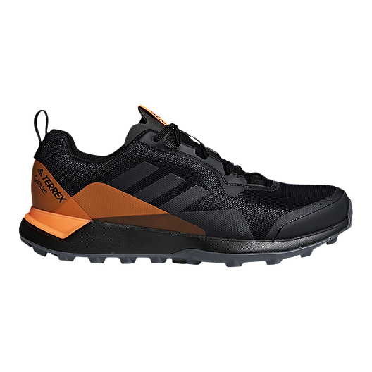 fe3d9c8fb26a adidas Men s Terrex CMTK GTX Trail Running Shoes - Black Grey Orange ...