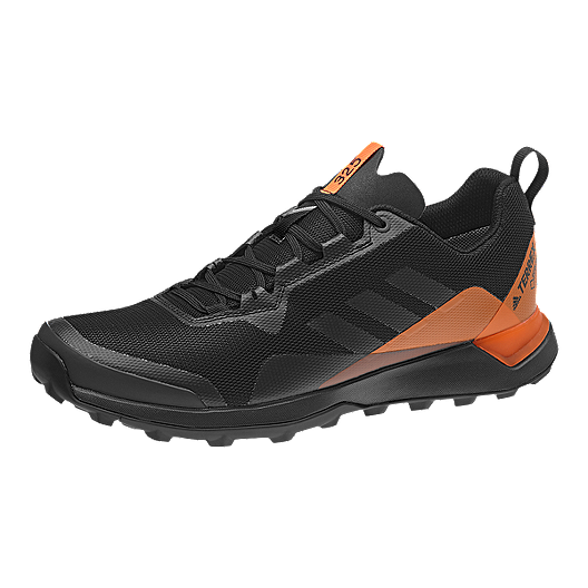 adidas Men's Terrex CMTK GTX Trail Running Shoes BlackGreyOrange