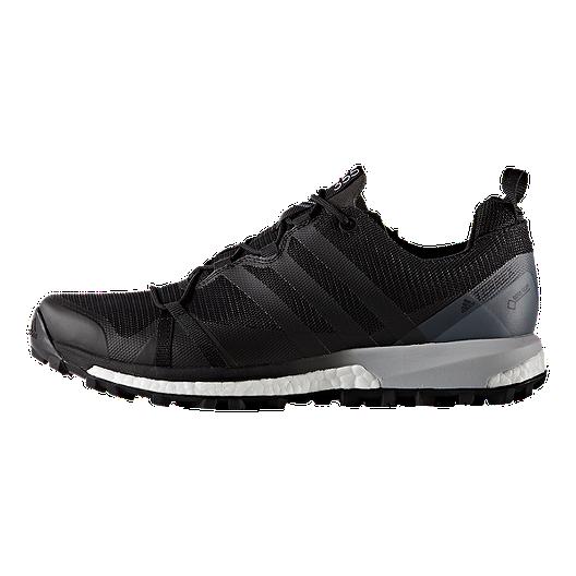 3bd2642464 adidas Men's Terrex Agravic GTX Trail Running Shoes - Black/White