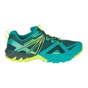 74c556b343f Merrell Women's MQM Flex Hiking Shoes - Pine/Lime