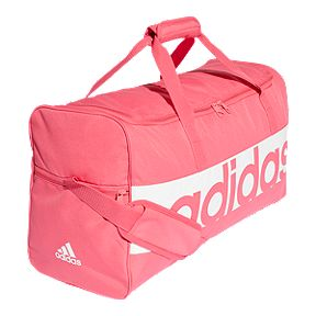 c51ee1c6cea0 adidas Linear Performance Duffel - Real Pink White