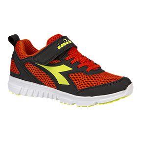 b2254e5c83 Diadora Boys  Chase Shoes - Red Black Yellow