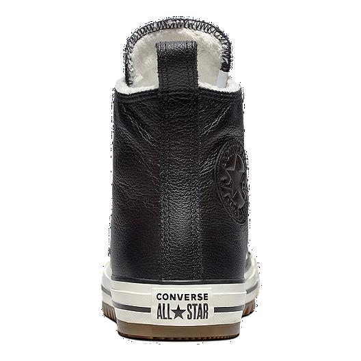 fc23da8381c4 Converse Women s Chuck Taylor Leather Hiker Boot - Black Egret. (0). View  Description