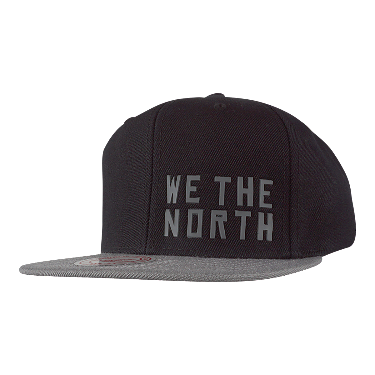 various colors bcef2 f0b76 Toronto Raptors Mitchell and Ness Little Logo Snapback Cap - BLACK