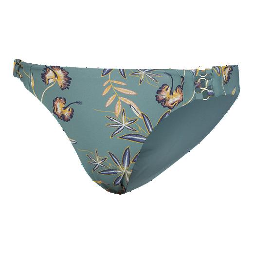 1917ec9d5b3ca Roxy Women's Softly Love Full Bikini Bottom - TRELLIS BIRD