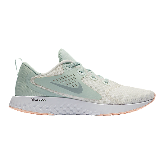new arrival afe03 d9a1d Nike Womens Legend React Running Shoes - Summit WhiteWolf Grey  Sport  Chek