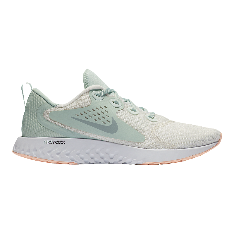 80217236a6cba Nike Women s Legend React Running Shoes - Summit White Wolf Grey ...
