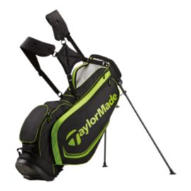 TaylorMade Custom 4.0 Stand Bag - Black/Grey/Green