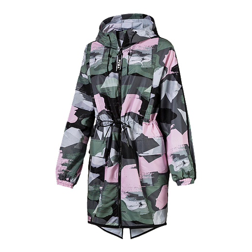 bee2a26a83299 Puma Women's Chase Printed Parka | Sport Chek