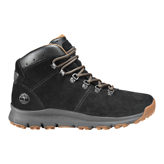53678e5c462e Timberland Men s World Hiker Mid Boots - Black Suede