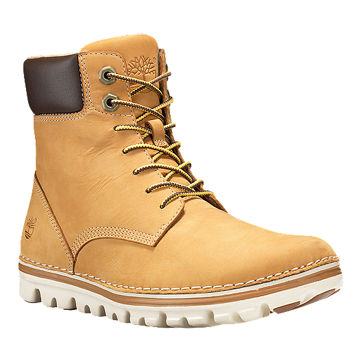 d3fdda0695d Timberland Women's Brookton 6 Inch Lace Up Boots - Wheat