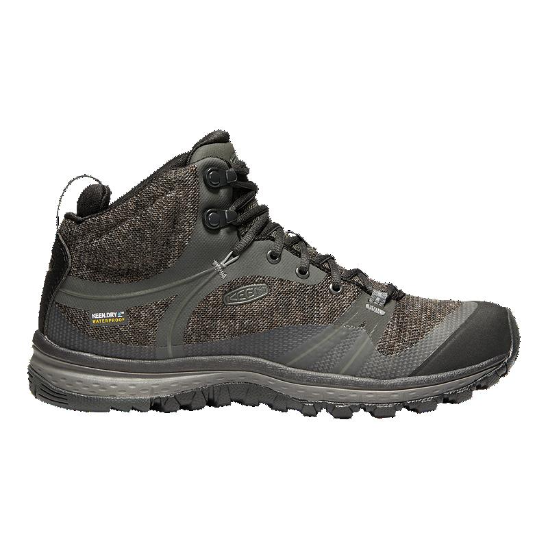8d396d5289b Keen Women's Terradora Mid Waterproof Hiking Boots - Raven/Gargoyle