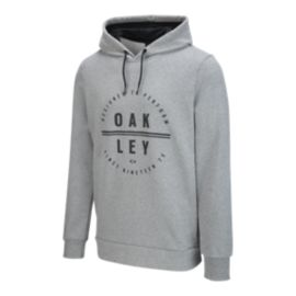 Oakley Men's Designed To Perform Circle Pullover Hoodie - Grey