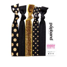 Popband Women's Black Magic Print Hairtie 5-Pack