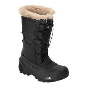 af4caf70f The North Face Girls  Shellista Lace III Winter Boots - TNF Black